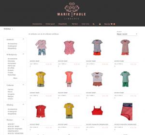 FashionManager Webshop - Lingerie Marie-Paule