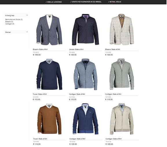 product foto's op webshop