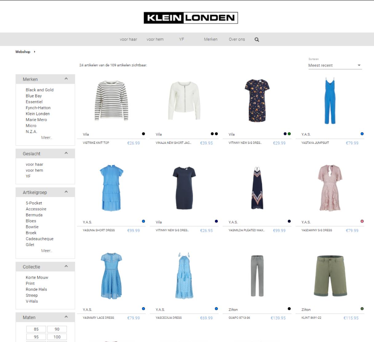 FashionManager Web - Klein Londen