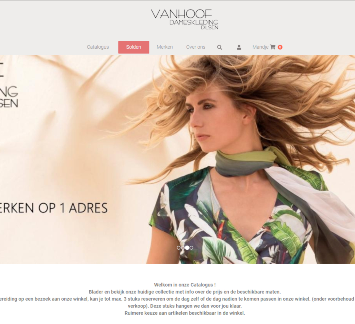 FashionManager Web - VanHoof Dames